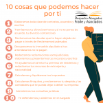 10 cosas que podemos hacer por ti